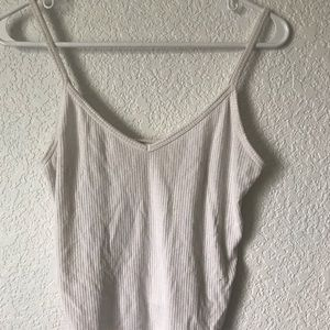 Small Forever 21 White Tank